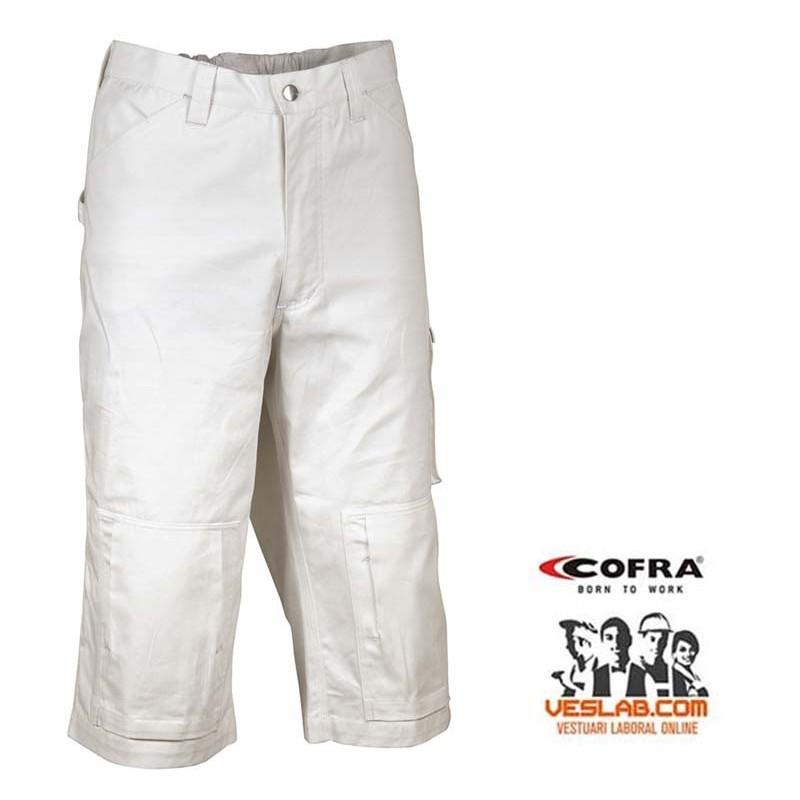 Pantalón pirata blanco COFRA CAIRO