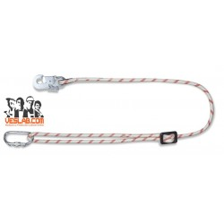 AJUSTABLE ROPE WITH CARABINERS