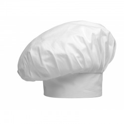 CHAPEAU CHEF BIG WHITE