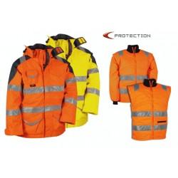MANTEAU COFRA PROTECTION HAUTE VISIBILITÉ