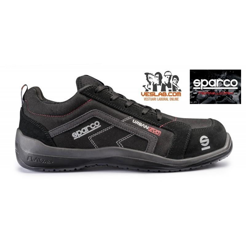 SPARCO TEAMWORK URBAN EVO S1P SRC SAFETY BOOTS
