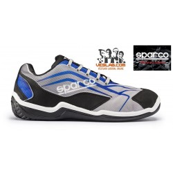 SPARCO TEAMWORK TOURING BLUE S1P SAFETY BOOTS