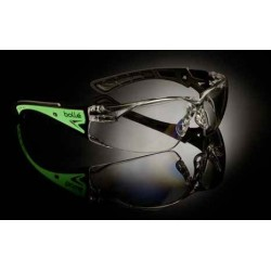 BOLLE RUSH+ GLOW FLUORESCENT SAFETY GLASSES