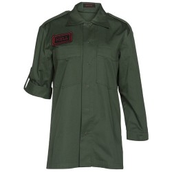 MILITARY PATCH WOMAN JACKET