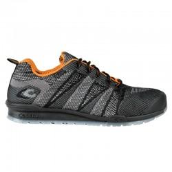 FOOTWEAR COFRA FLUENT BLACK/ORANGE S1 P SRC