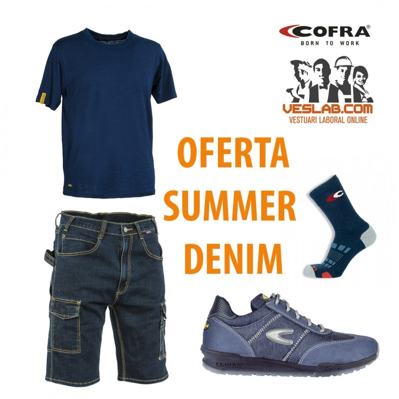 OFERTA COFRA DENIM SUMMER