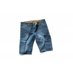 DIKE DENIM STONE WASHED SHORT
