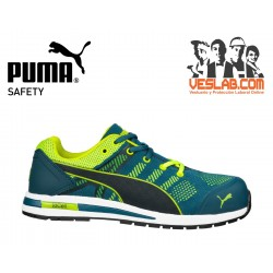 PUMA ELEVATE KNIT LOW Green S1P SRC