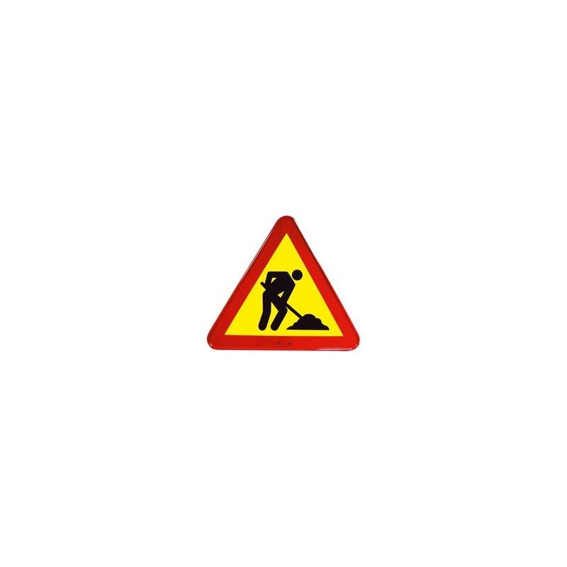 SIGNAL DE TRAVAUX DANGEREUX 50 cms