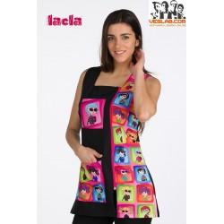 LACLA COAT S/M ESP. CP. BLACK