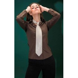 Camisa senyora de màniga llarga i entallada