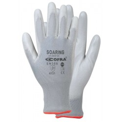 COFRA SOARING (PU) GLOVES PACK 12 uts.