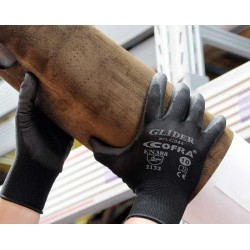 GUANTES COFRA GLIDER (PU) PAQUETE 12 uds.