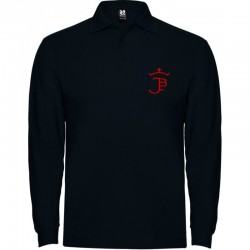 PRINTED LONG SLEEVE POLO UNISEX (Minimum 30 uts.)