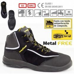 GOODYEAR G8000 BLACK GYR S3 SRC SAFETY BOOTS