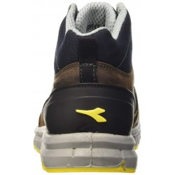 DIADORA RUN HIGH S3 Blue/Marron SAFETY BOOTS