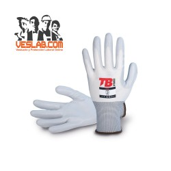 TB 703 FRESH NYLON/NITRILE WHITE GLOVES