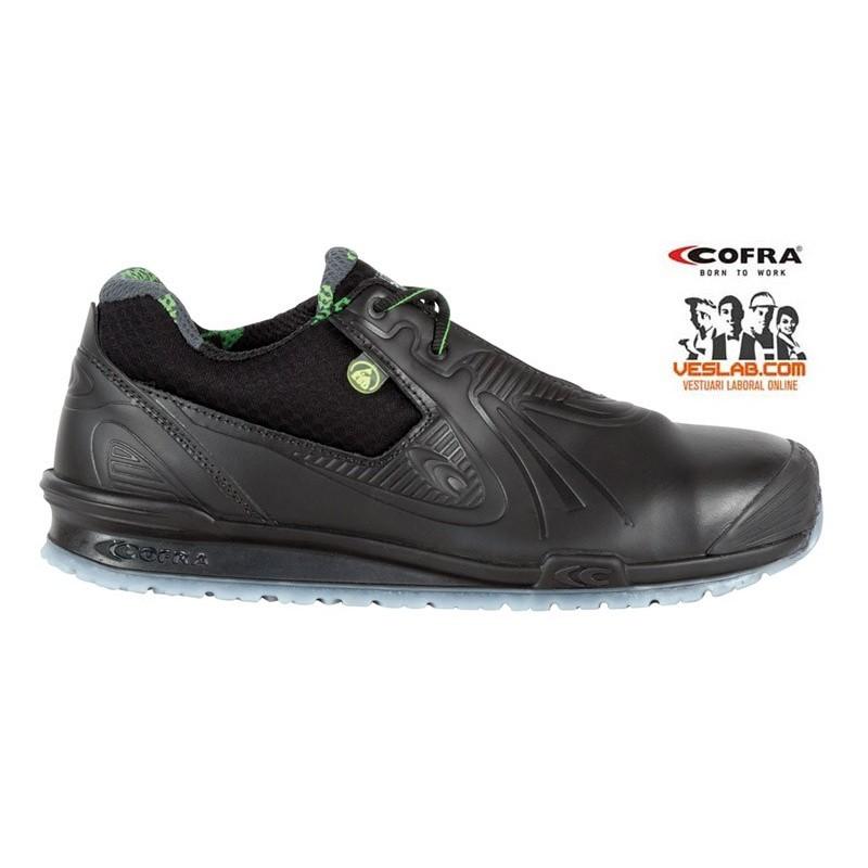 FOOTWEAR COFRA GOLEADA BLACK S3 ESD SRC SAFETY SHOES