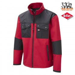 LEE COOPER RED SOFT SHELL JACKET