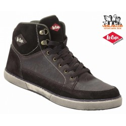 LEE COOPER LEATHER MIDCUT SAFETY BOOTS S1P SRA