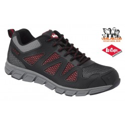 LEE COOPER BLACK LIGHTWEIGHT SAFETY SHOE S1P SRA