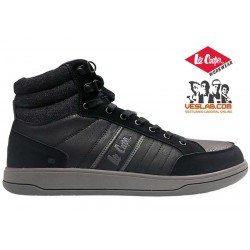 LEE COOPER MID ANKLE LEATHER SAFETY BOOTS S1P SRA
