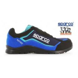 CALZADO DE SEGURIDAD SPARCO TEAMWORK PRACTICE S3 SRC BLUE