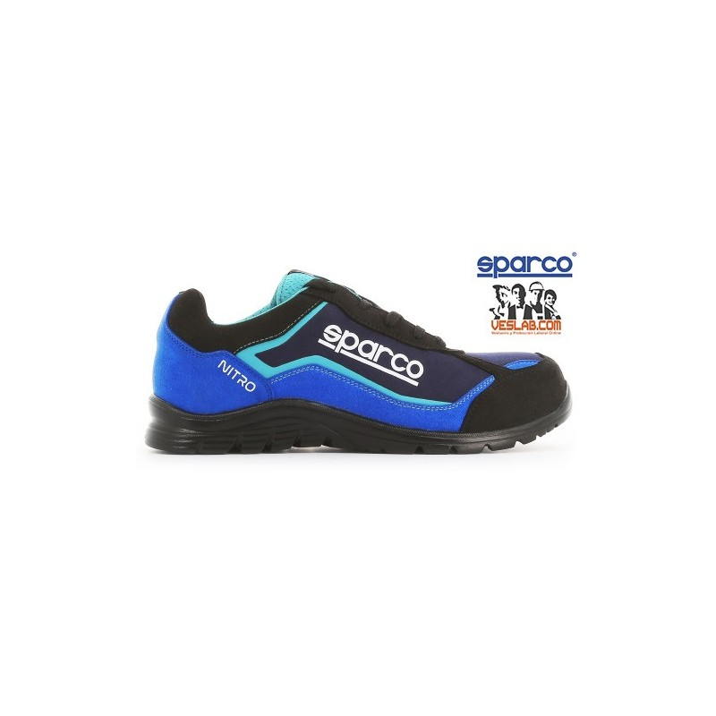 SPARCO TEAMWORK PRACTICE S3 SRC SAFETY BOOTS BLUE