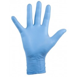 LIGHTWEIGHT AND COMFORTABLE DISPOSABLE NITRILE GLOVES (100 uts.)