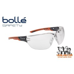 BOLLE SAFETY NESS+ INCOLORE GLASSES