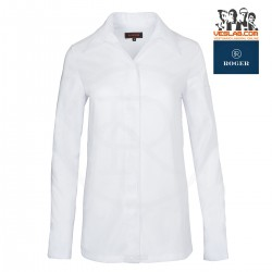 CHEF WOMAN JACKET CUT STYLE SHIRT