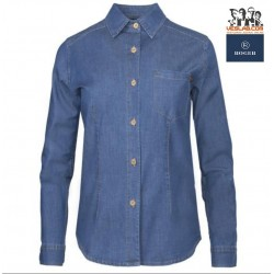DENIM WOMAN SHIRT