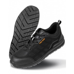 WORK-GUARD BLACK SAFETY SHOES