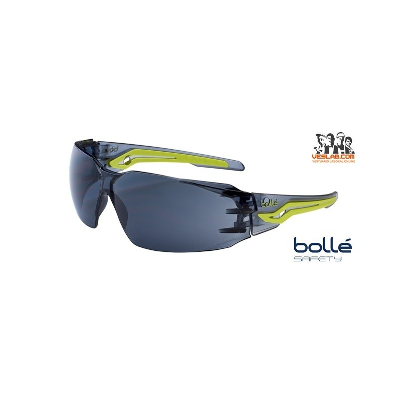 BOLLE SILEX SMOKED SAFETY GLASSES