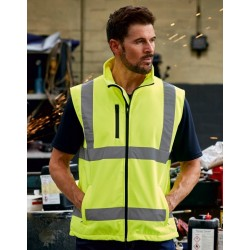 SOFTSHELL FLUO VEST