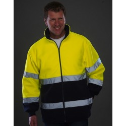 POLAR 2 COLORS FLUO JACKET