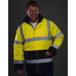 BICOLOR FLUO SAFETY JACKET