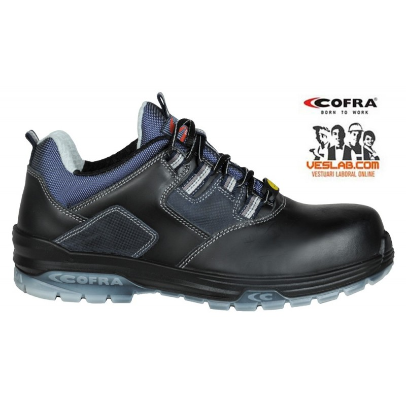 COFRA RAP BLACK S3 ESD SRC SAFETY TRAINERS