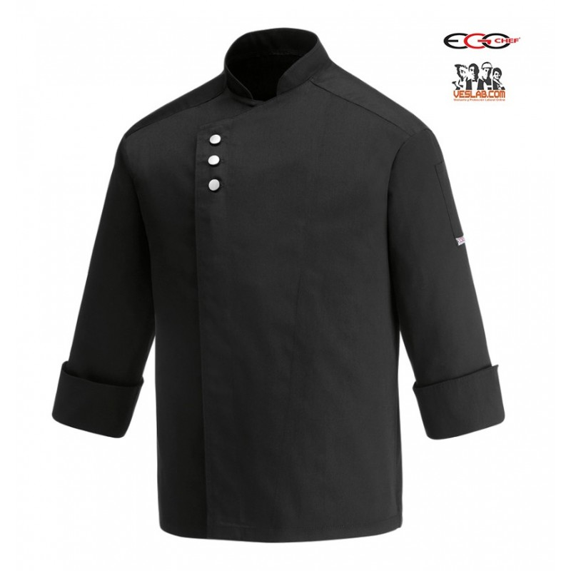 EGOCHEF METAL BLACK JACKET