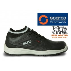 SPARCO LEGEND S3 SAFETY SHOES BLACK GREY