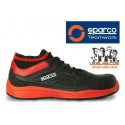 CALZADO SPARCO LEGEND S3 BLACK RED