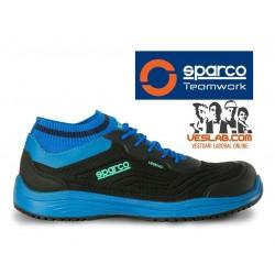 SPARCO LEGEND SAFETY SHOES S1 P SRC BLACK BLUE
