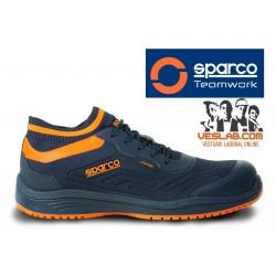 SPARCO LEGEND SAFETY SHOES S1 P SRC BLUE ORANGE