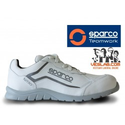 SPARCO TEAMWORK NITRO S3 SRC SAFETY BOOTS WHITE