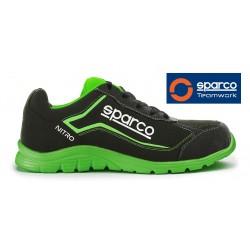 CALZADO DE SEGURIDAD SPARCO TEAMWORK NITRO S3 SRC BLACK