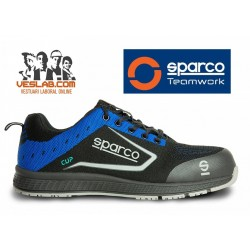 CALZADO DE SEGURIDAD SPARCO TEAMWORK NEW CUP S1 P SRC BLUE