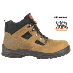 COFRA TORONTO BROWN GORE-TEX S3 WR SRC SAFETY BOOTS