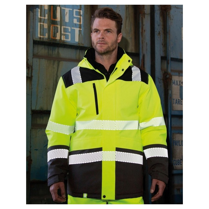 WATERPROFF HIGH VISIBILITY SOFTSHELL JACKET