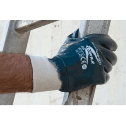GUANTES COFRA LOADER DEEP (Nitrilo) PAQUETE 12 uds.