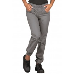 PANTALON GREY WITH ELASTIC WOMAN